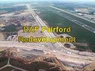 Click here for info about the RAF Fairford Redevelopment video